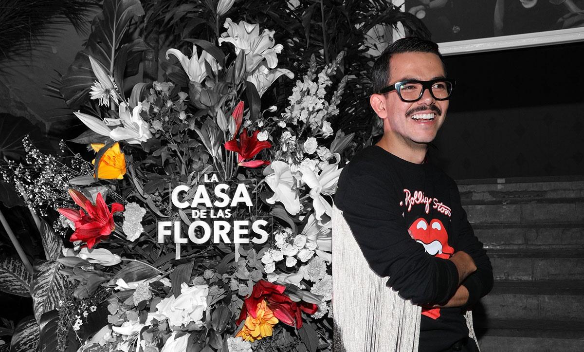 Manolo Caro, director de La casa de las flores