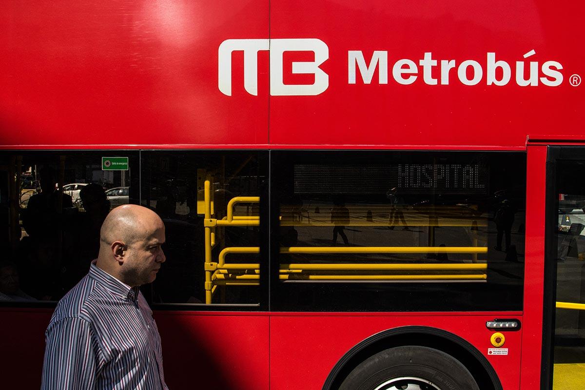 Metrobús, CDMX, transporte público,