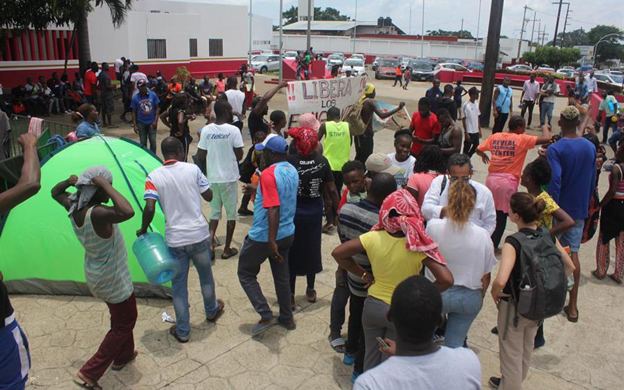 Migrantes, africanos, Chiapas, Instituto Nacional de Migración,