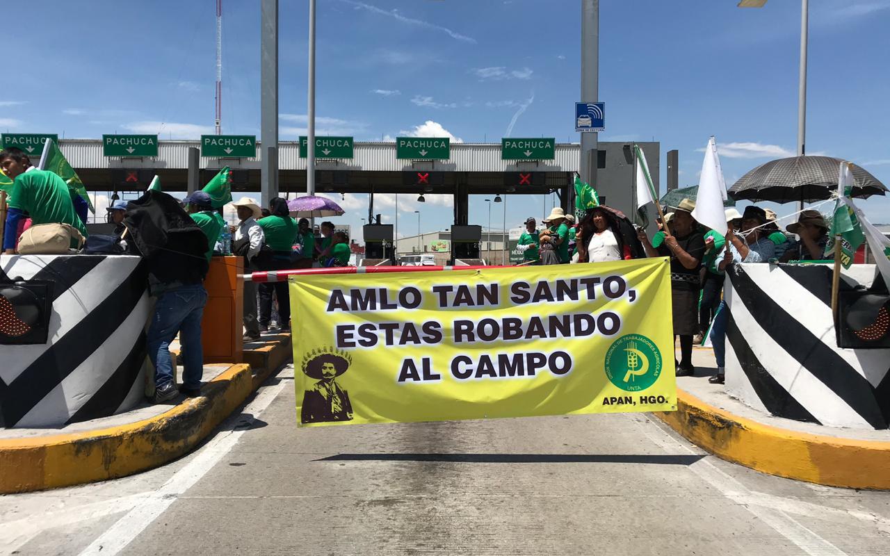 campesinos, marcha, protestas, recursos, campo, productores, López Obrador,