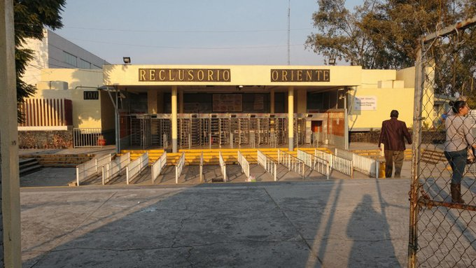 Reclusorio Oriente, incendio, CDMX,