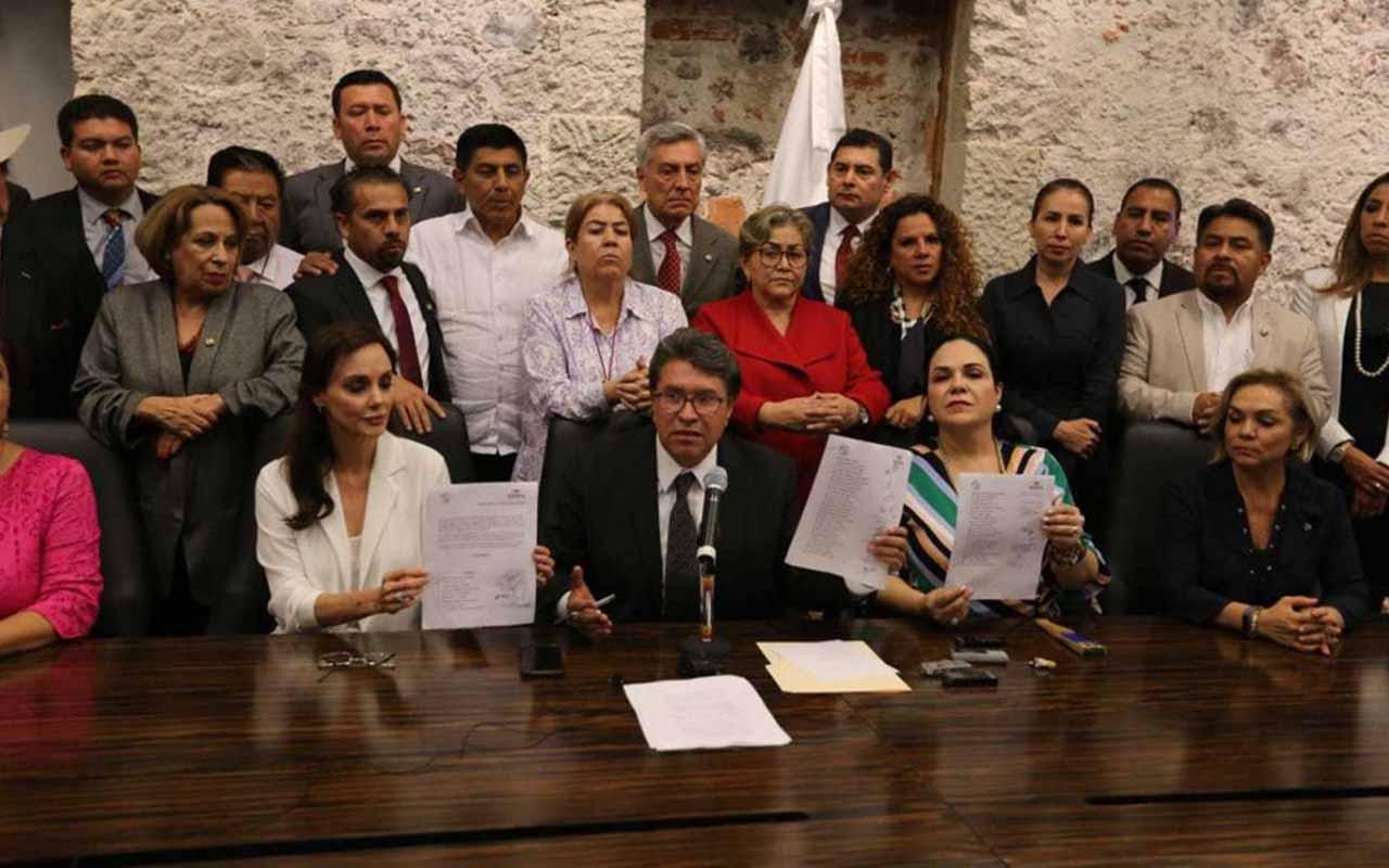 Ricardo Monreal, Martí Batres, Senado, Diputados, Morena, Mónica Fernández, Mesa Directiva, Presidencia Senado,