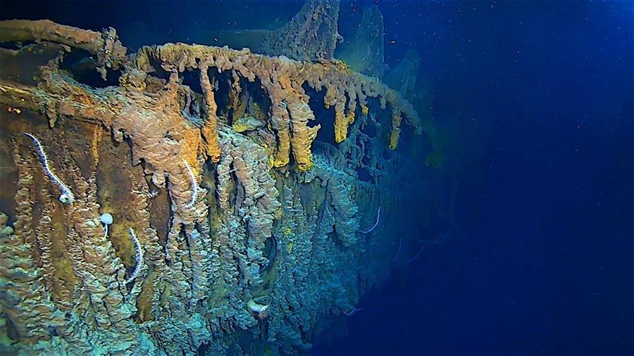 Restos del Titanic/Foto: EFE