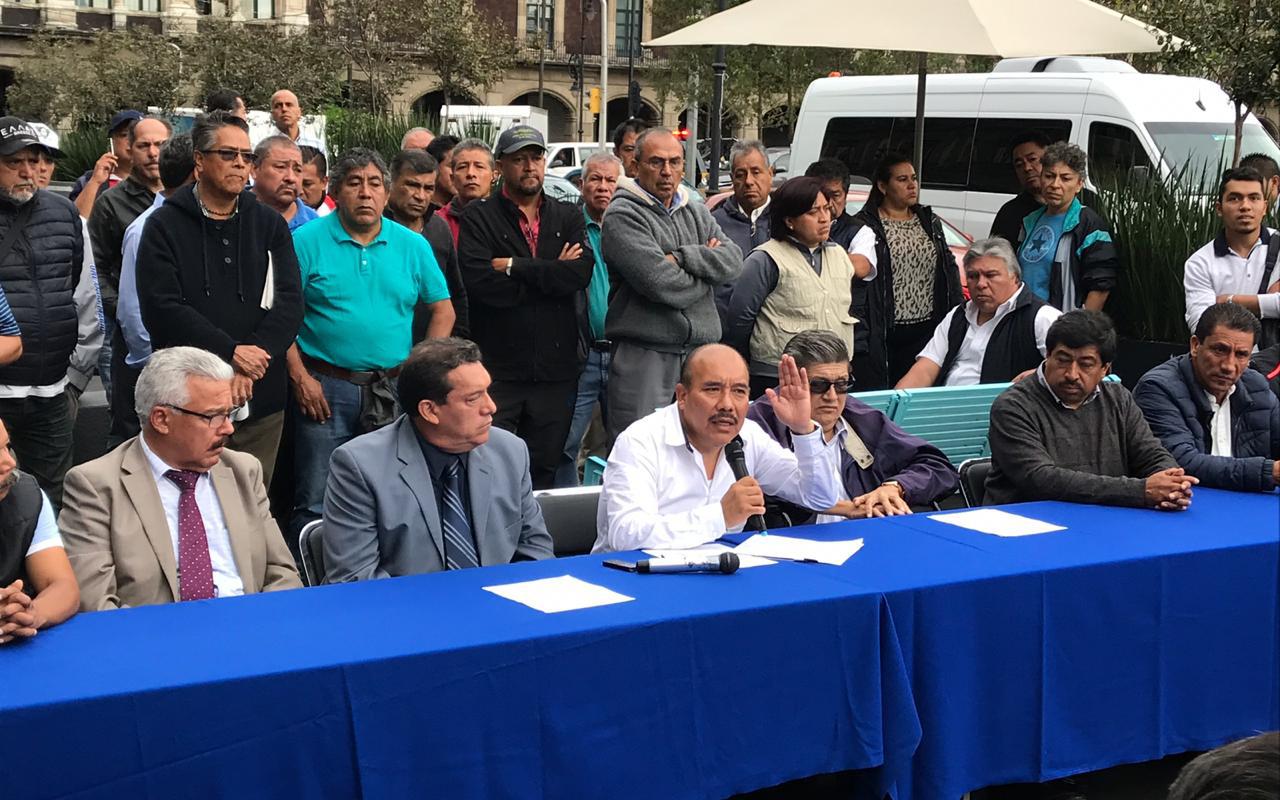 CDMX, Tarjeta Ciudad, Metrobús, Fuerza Amplia de Transportistas,
