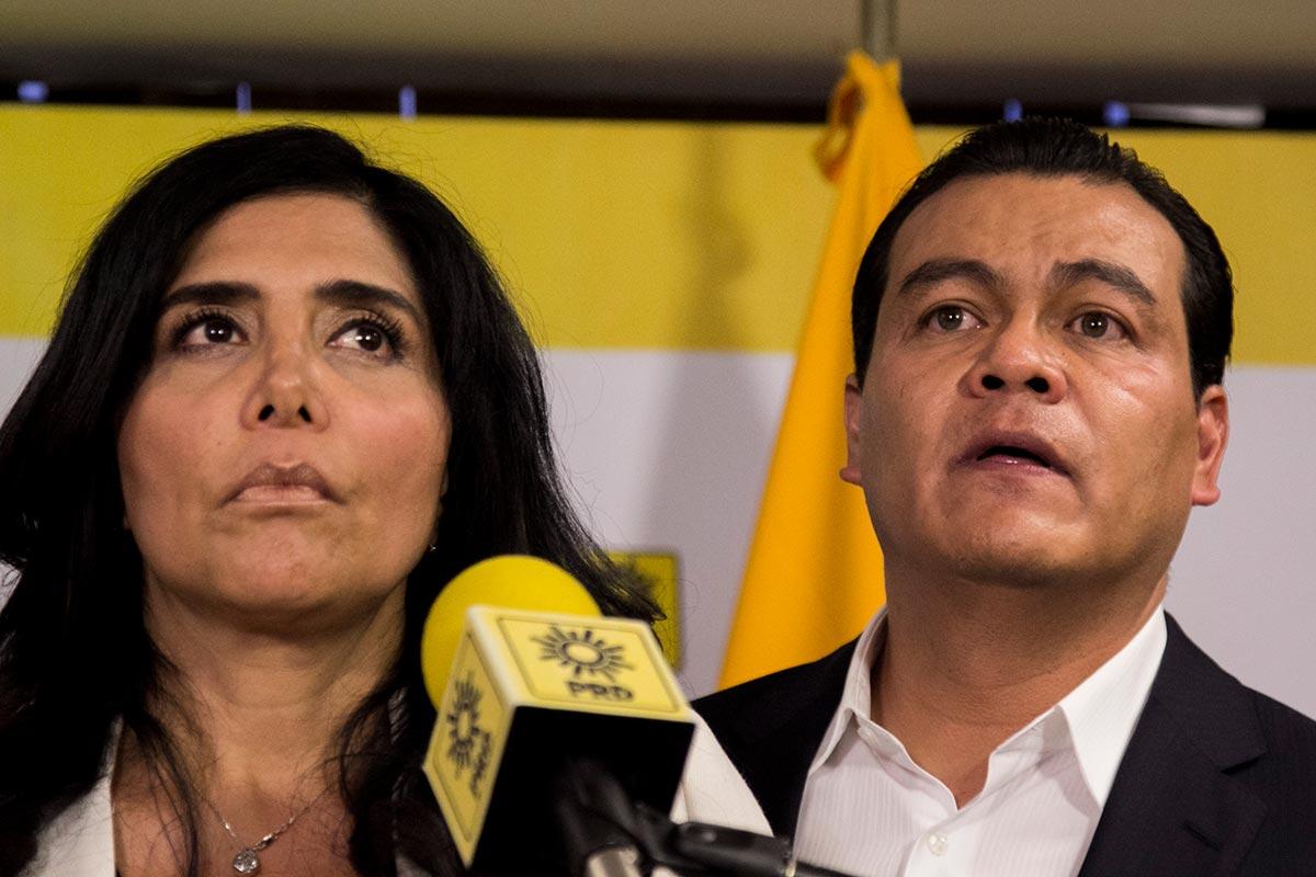 Claudia Barrales, Juan Zepeda, PRD, política