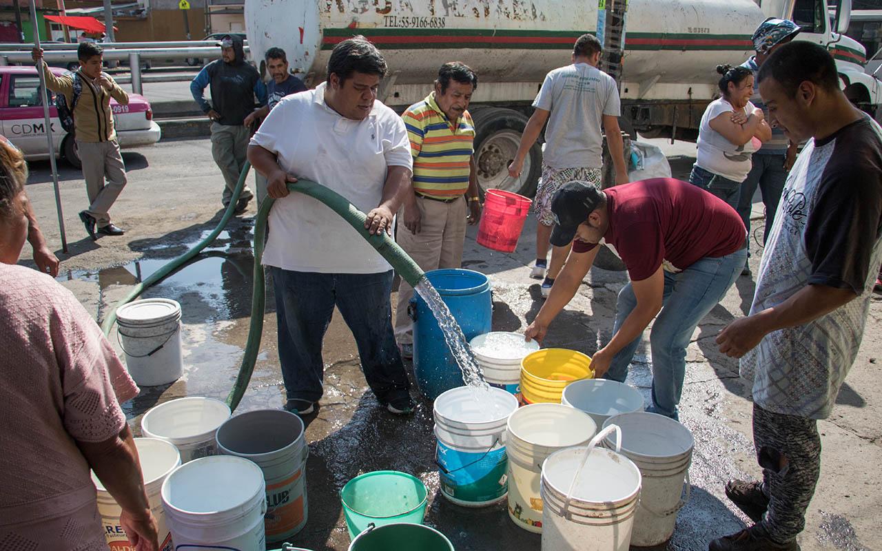 agua, Cutzamala, desabasto, CDMX, Edomex,