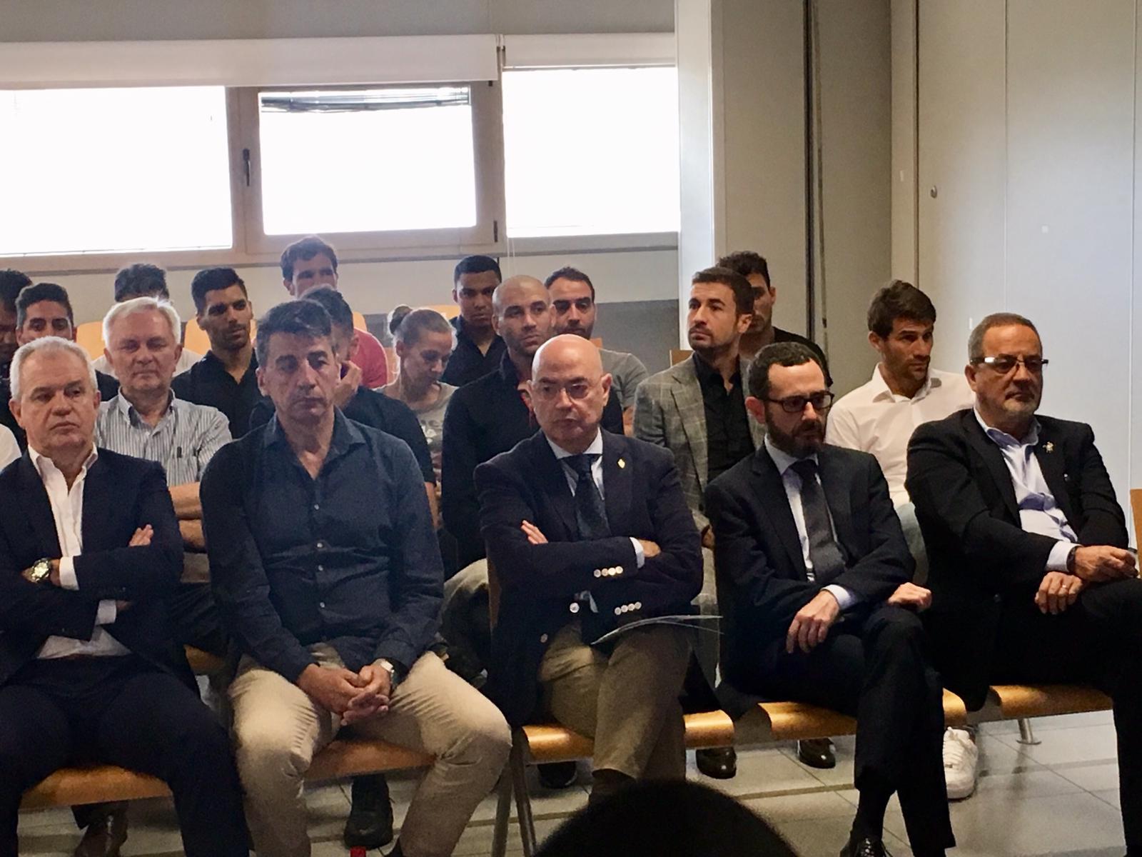 Inicia juicio contra el Vasco. Foto: Twitter