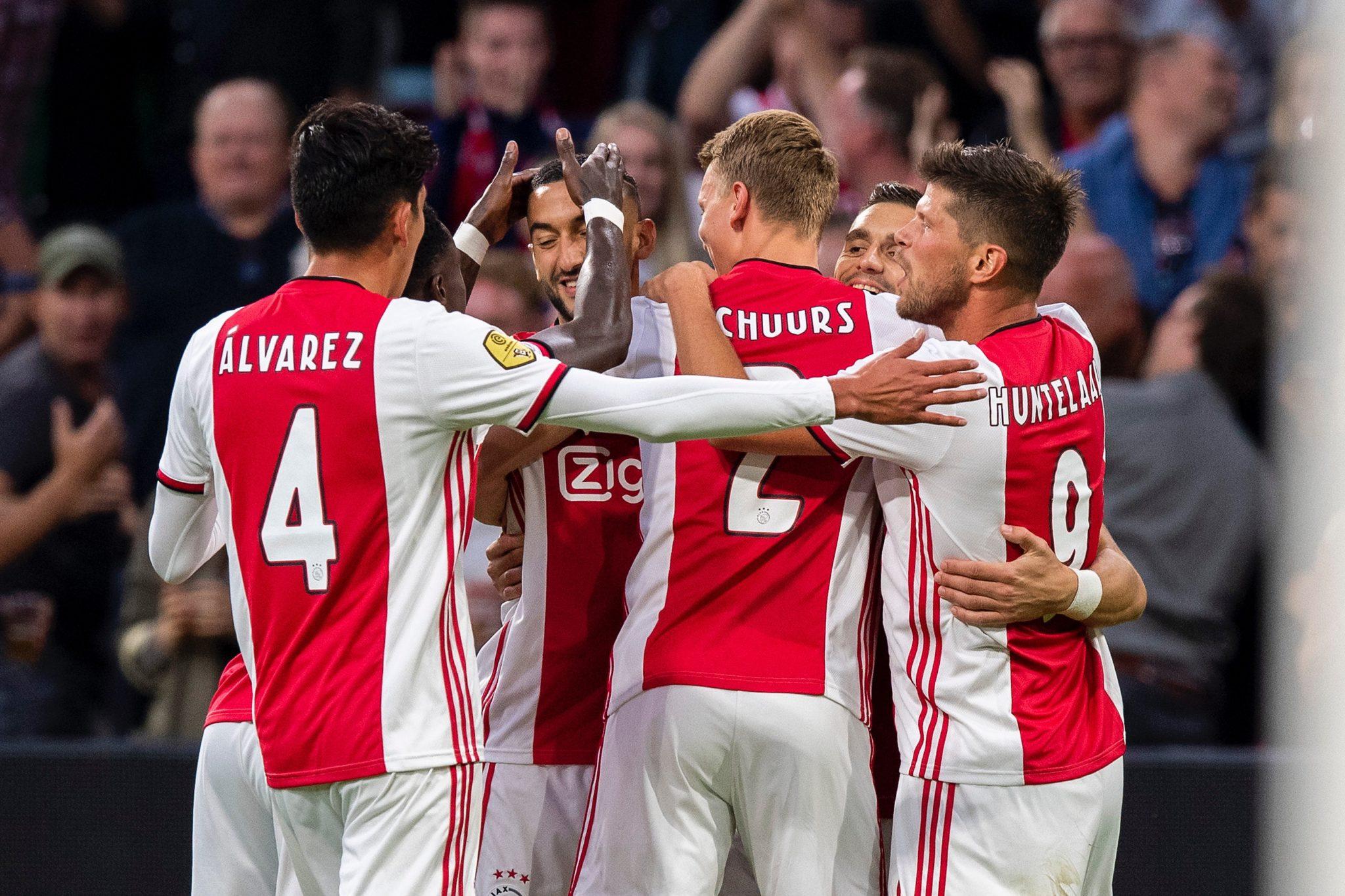 Golea el Ajax de Edson Álvarez. Foto: twitter