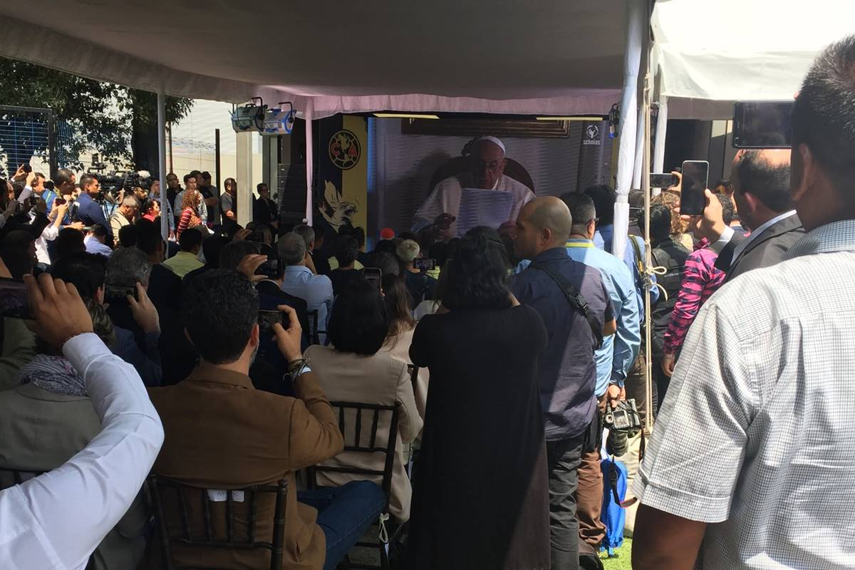 Papa Francisco dio felicitación al América. Foto: Twitter