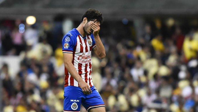 Briseño suspendido. Foto: Twitter