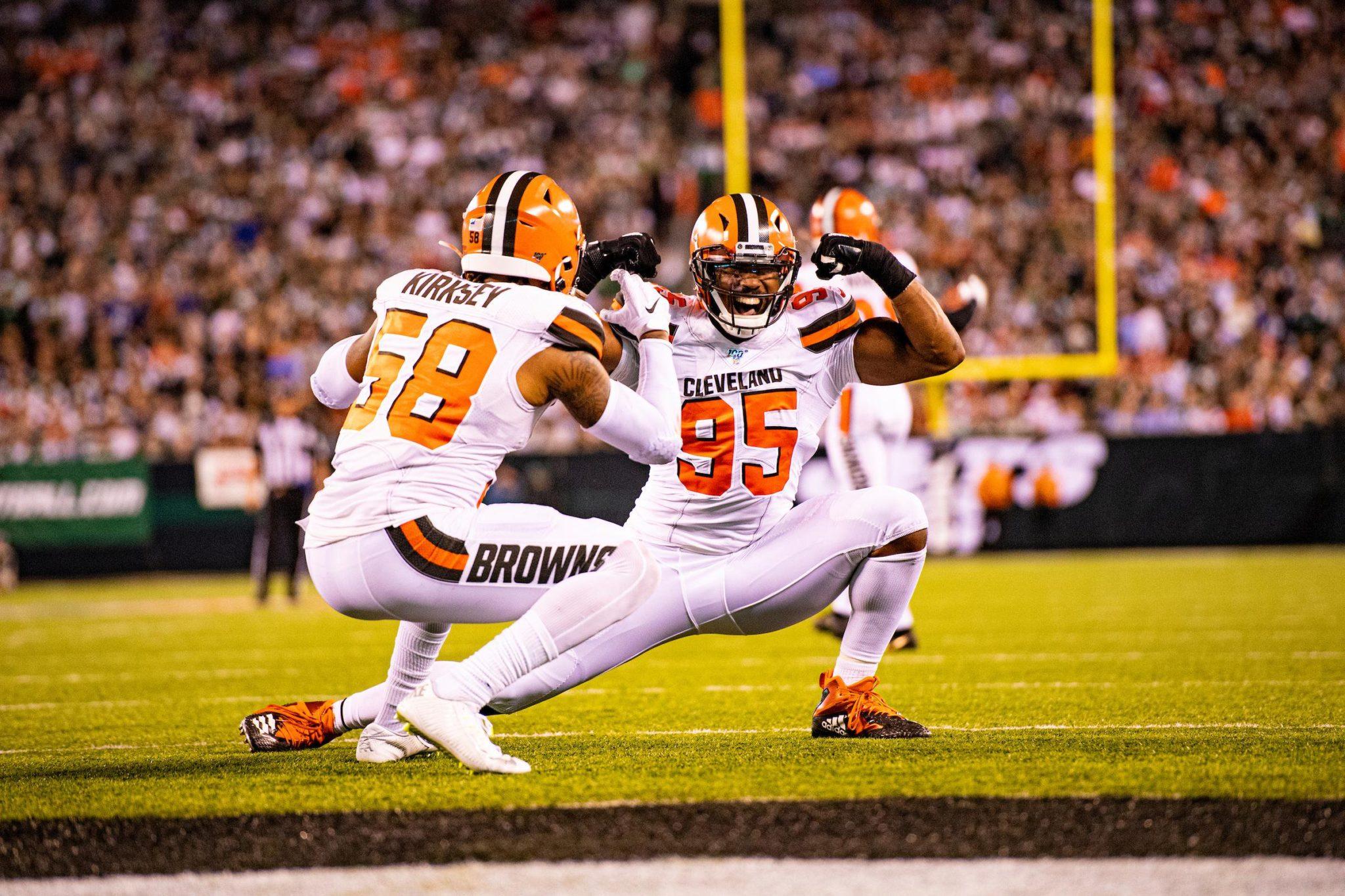Browns venció a los Jets. Foto: Twitter