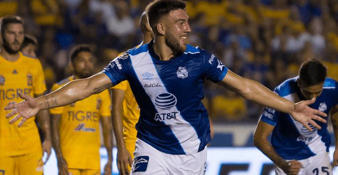 Puebla le pegó a Tigres. Foto: Twitter