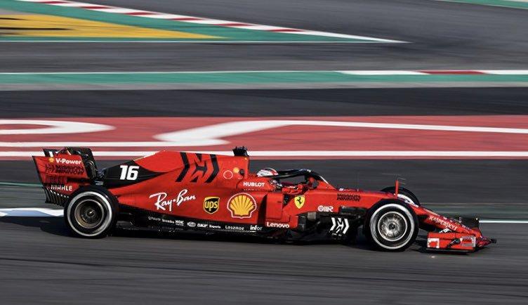 Ferrari hizo el 1-2. Foto: Twitter