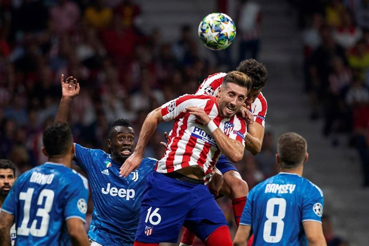 Herrera consiguió gol ante Juventus. Foto: Twitter