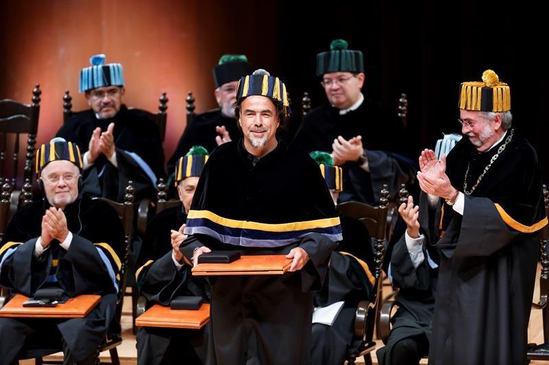 Alejandro González Iñárritu Honoris Causa UNAM