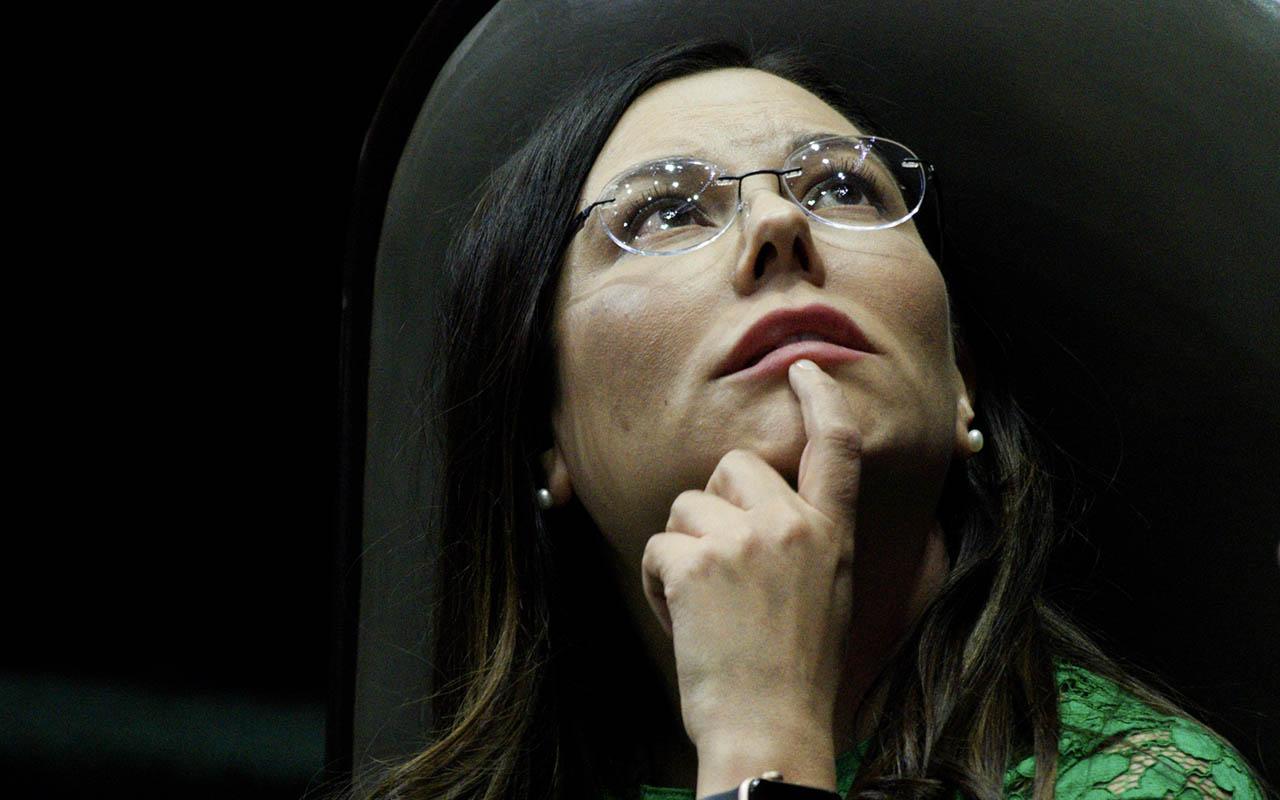 Laura Rojas, Cámara de Diputados, Morena, Mesa Directiva, Porfirio Muñoz Ledo,