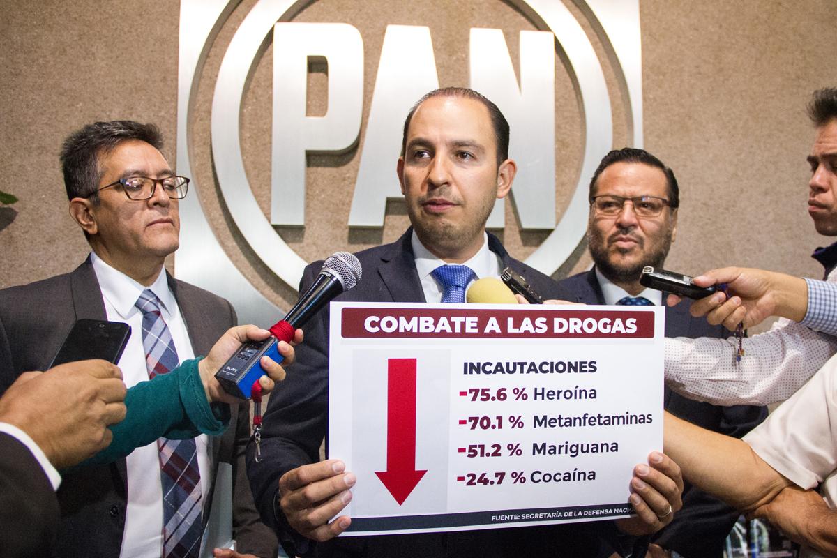 Primer Informe, López Obrador, Palacio Nacional, AMLO, PAN, Marko Cortés,