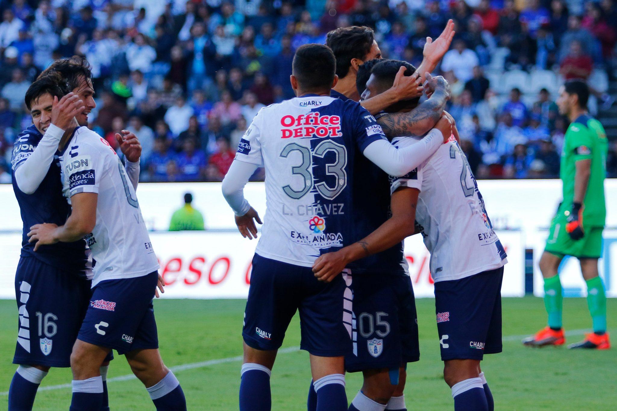 Pachuca dio cuenta de Cruz Azul. Foto: Twitter
