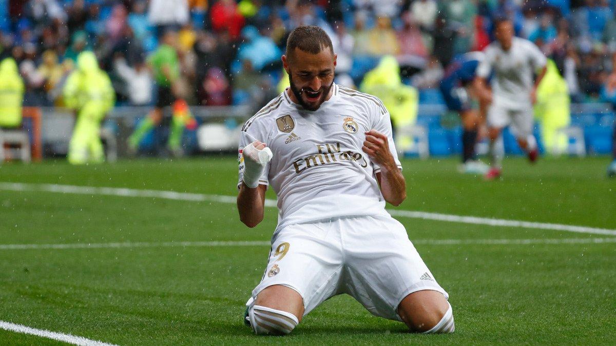 Real Madrid le pegó al Levante Foto: Twitter