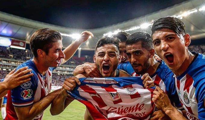 Sanciones a jugadores de Chivas. Foto: Twitter