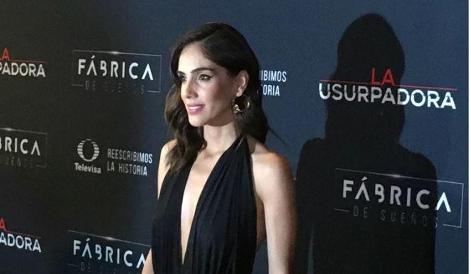 "Sandra Echeverría es ""La Usurpadora"""