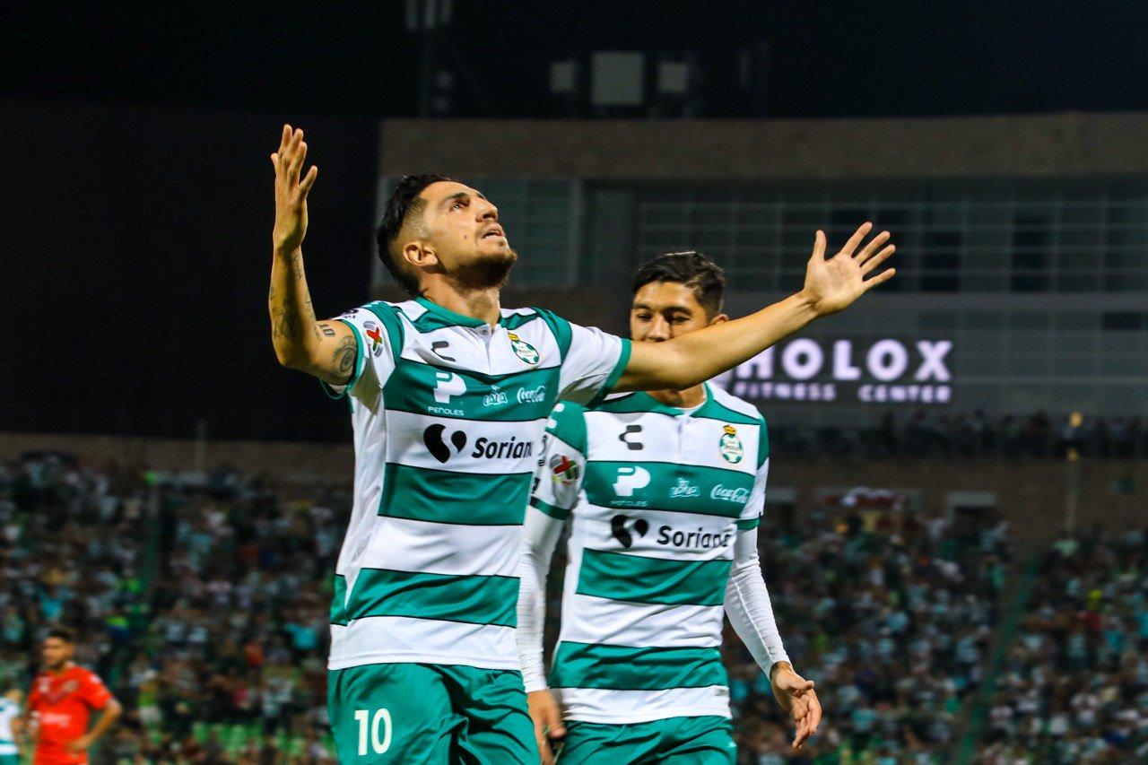 Santos le pegó a Veracruz. Foto: Twitter