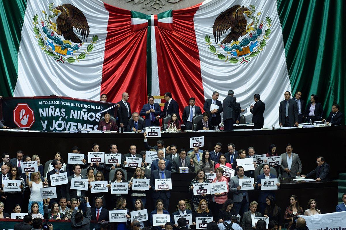 Reforma Educativa, diputados, CNTE