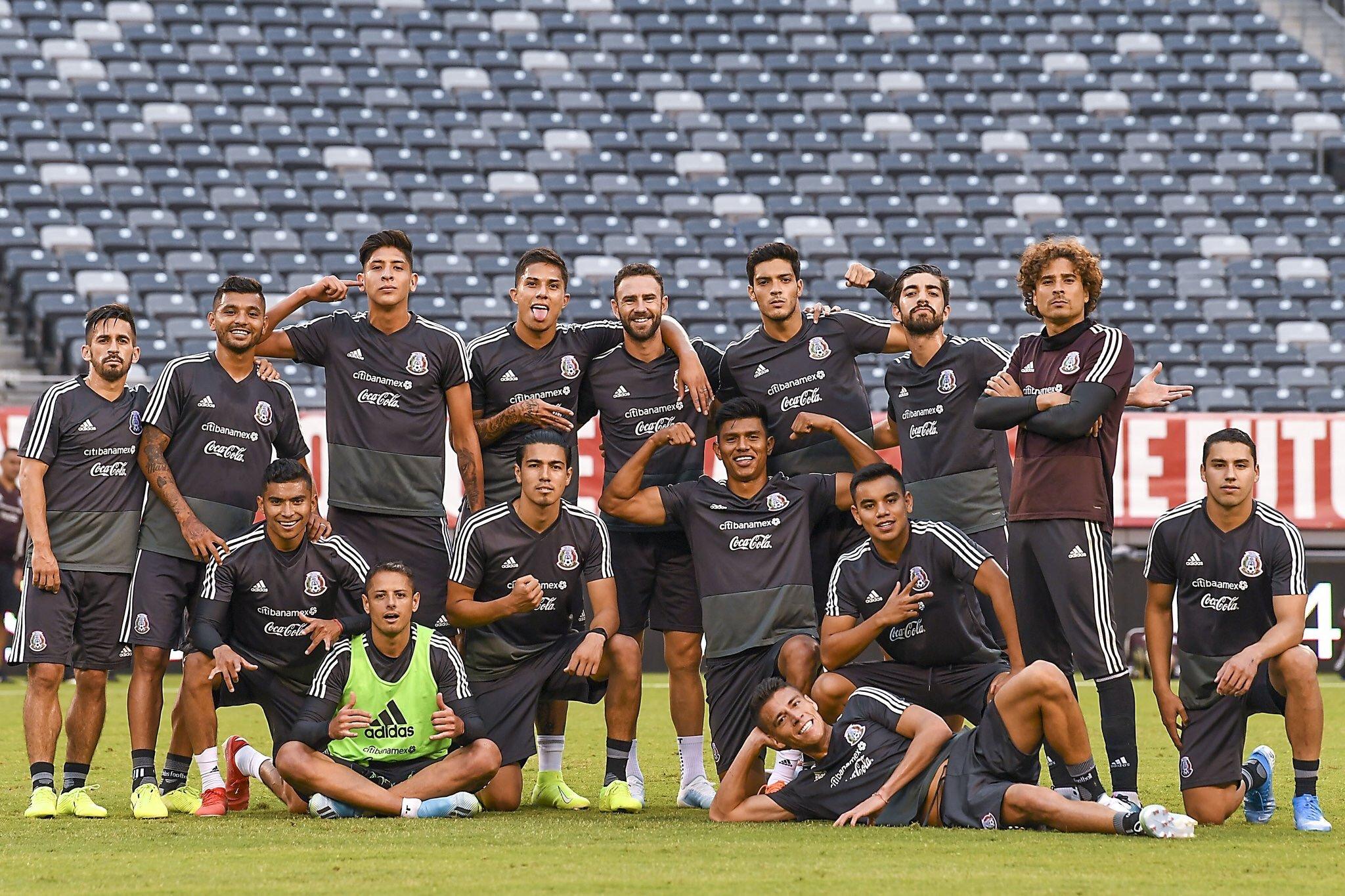 Selección mexicana. Twitter