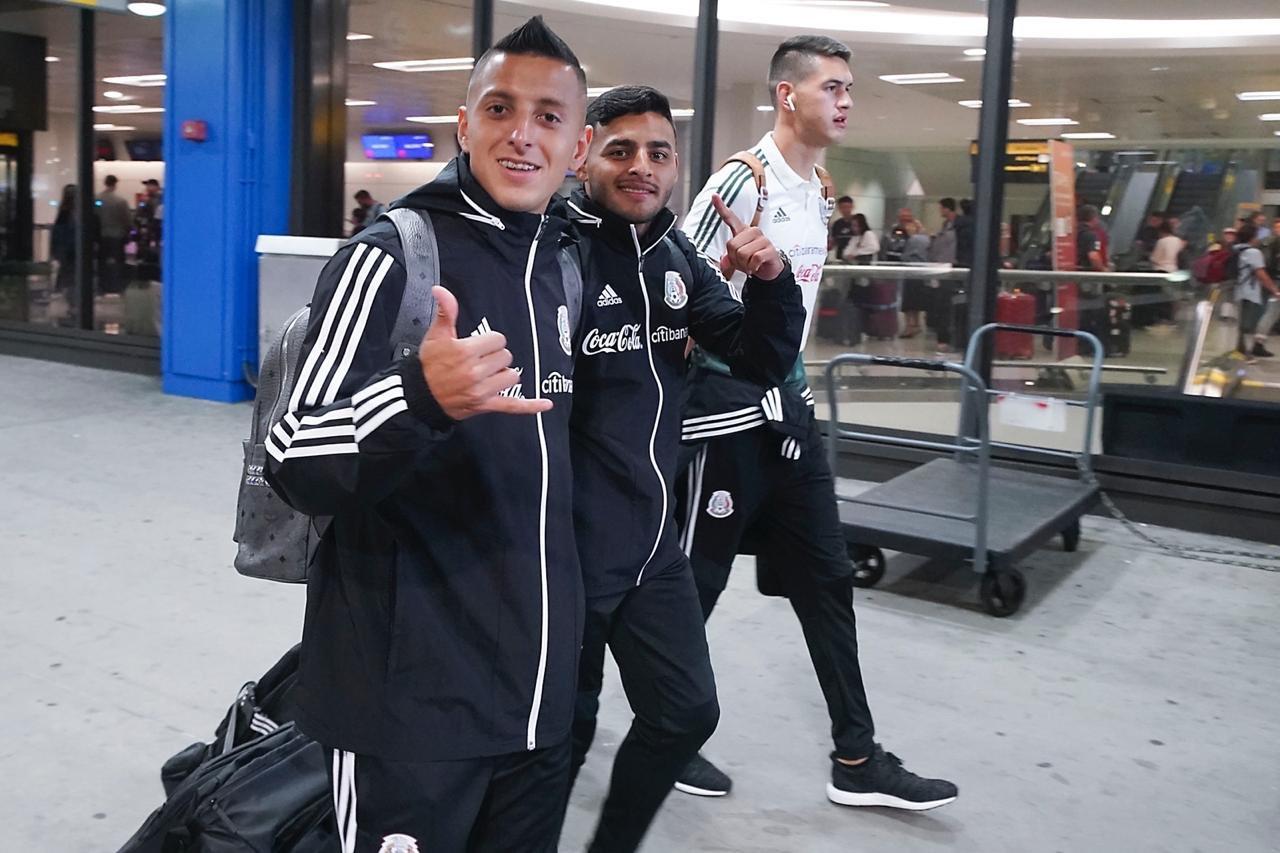 Selección mexicna se alista para enfrentar a Estados Unidos. Foto: Mi Selección