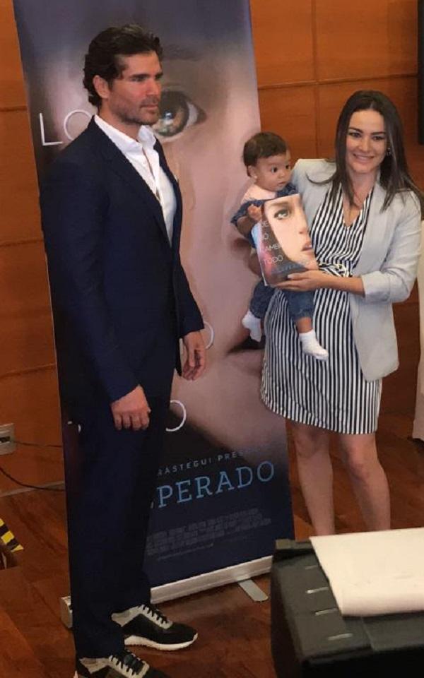 Eduardo Verástegui y la senadora Martha Márquez