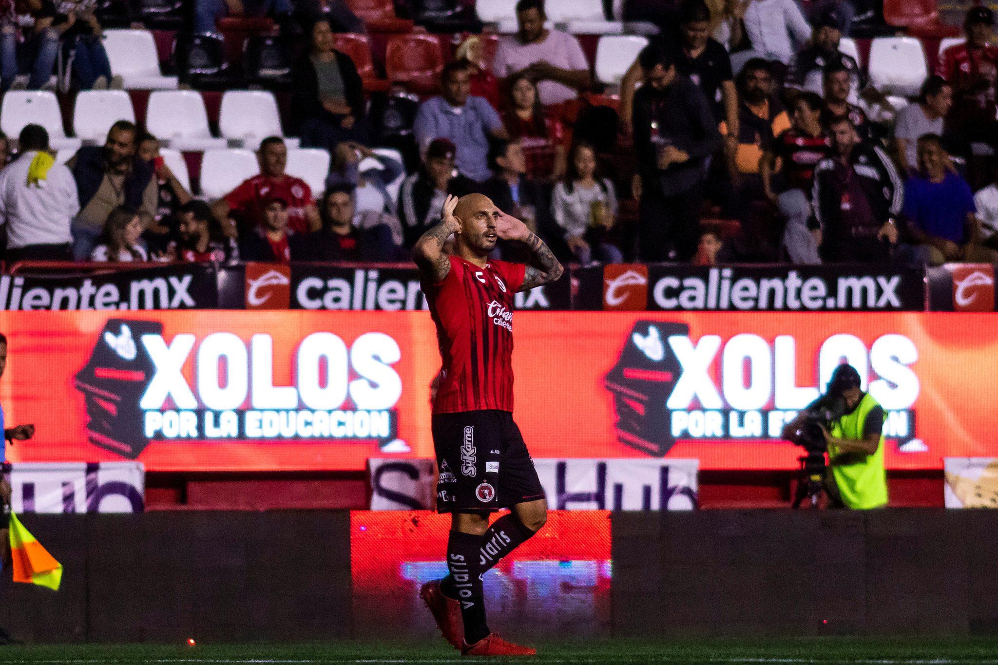Xolos le pegó a Morelia. Foto: Twitter
