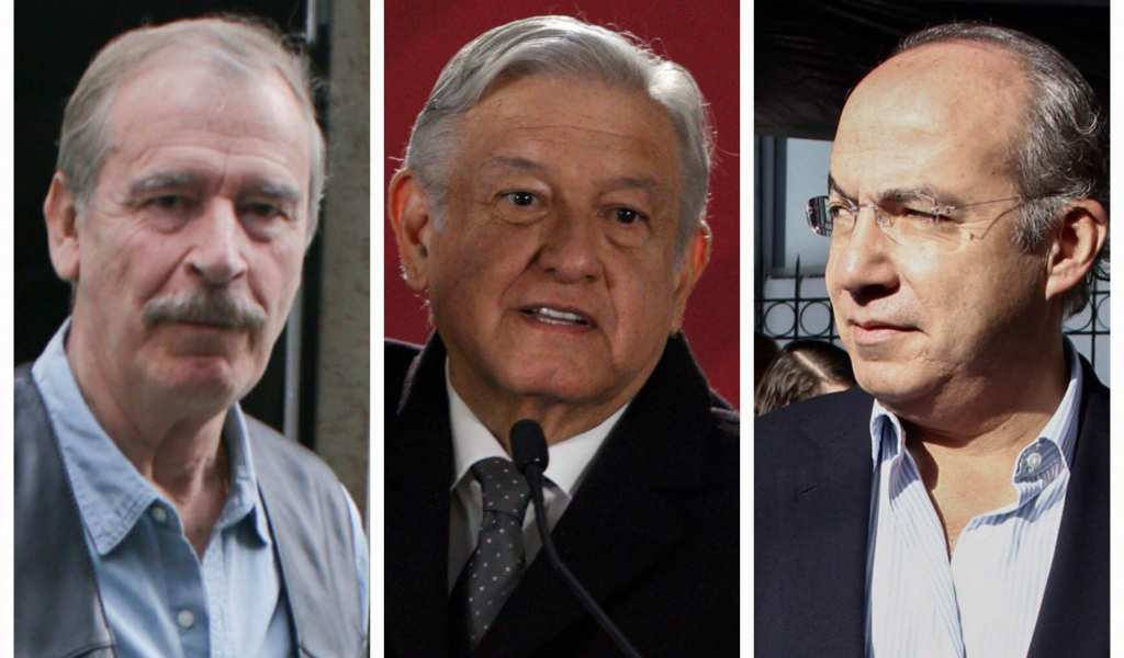 Felipe Calderón, Vicente Fox, Andrés Manuel López Obrador, Mañanera,