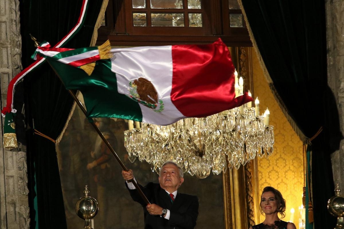 AMLO, Grito Independencia, López Obrador, Zócalo,