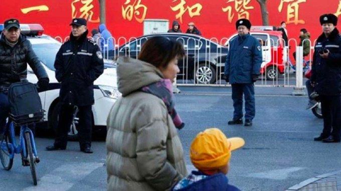 China, primaria, niños, atentado