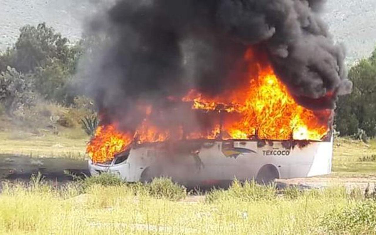 Autobús, secuestro, extorsión, delincuentes, Estado de México, Tepetlaoxtoc,