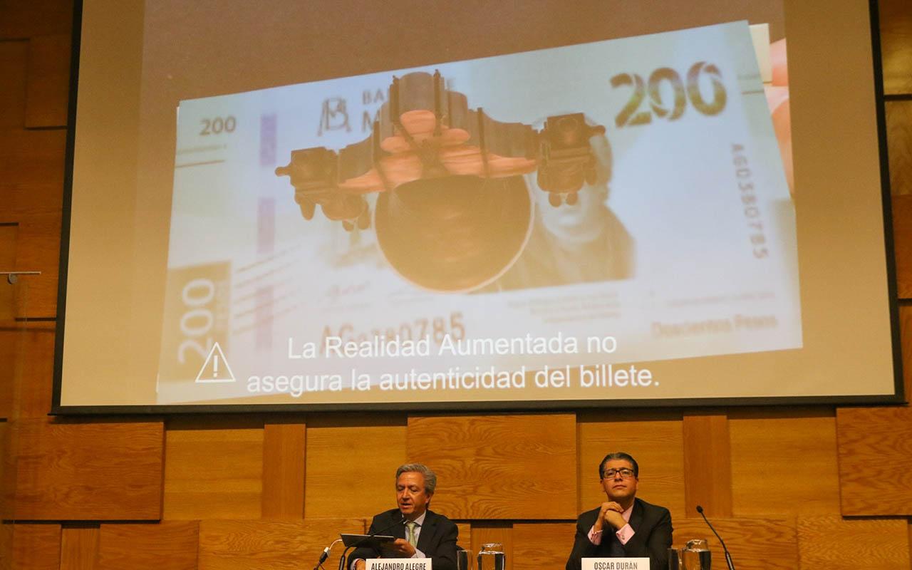 App, Banco de México, Banxico, billetes falsos, realidad aumentada,