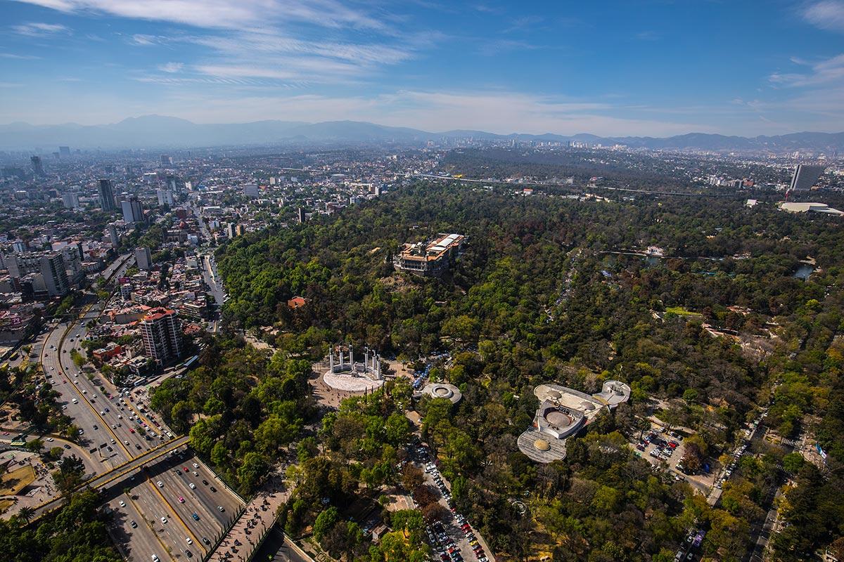 Chapultepec, CDMX, parques urbanos, bosque