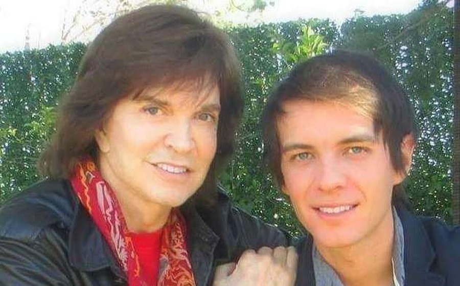 Camilo Sesto con su hijo Camilo Blanes Jr. hace algunos años