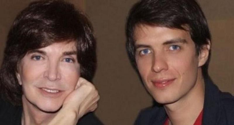 Camilo Sesto y su hijo Camilo Blanes