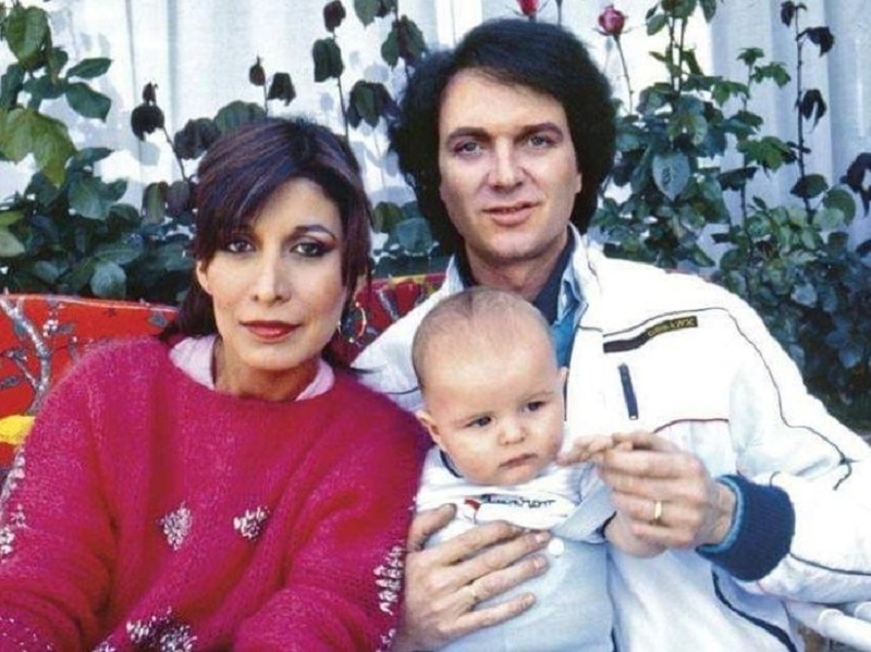 Camilo Sesto, Lourdes Ornellas y Camilo Blanes Jr.