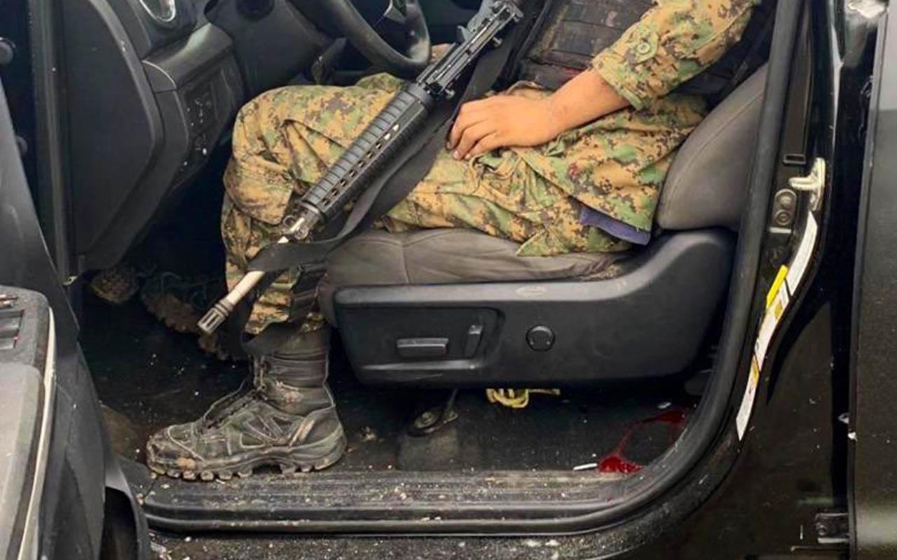 Nuevo Laredo, ejecución extrajudicial, Tamaulipas, montaje, La Tropa del Infierno, Cártel del Noreste,