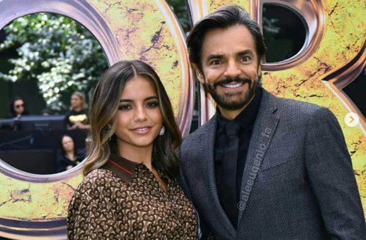 Eugenio Derbez e Isabela Moner