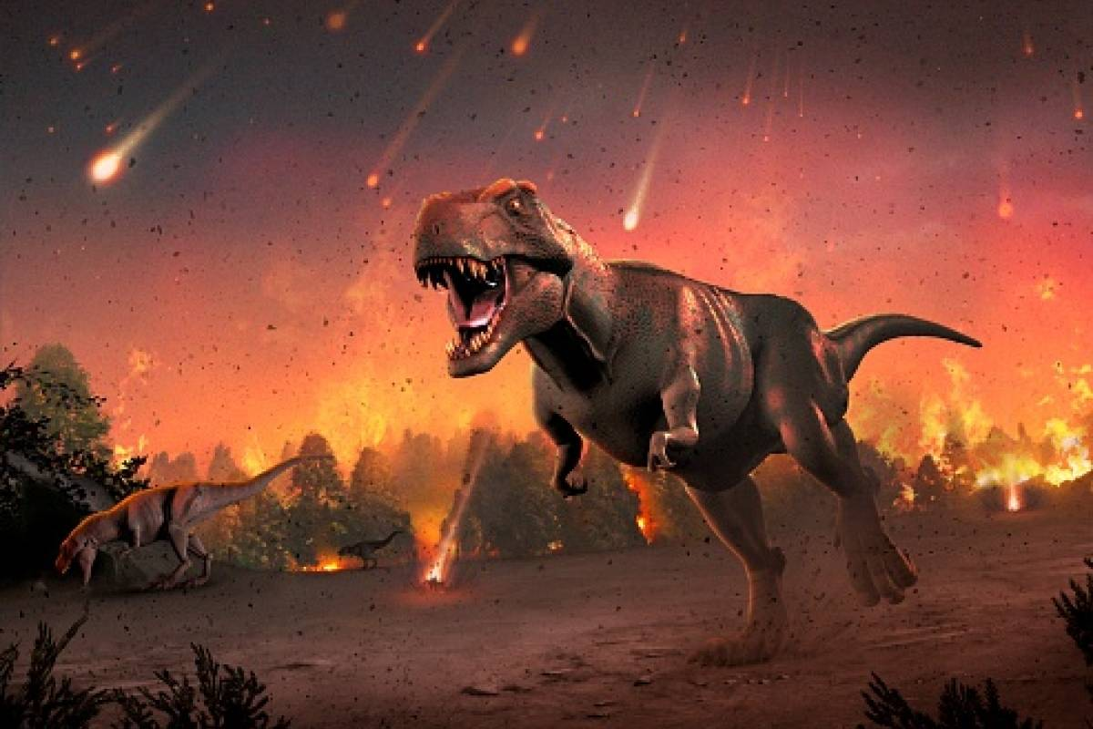 dinosaurios, extinción, meteorito,