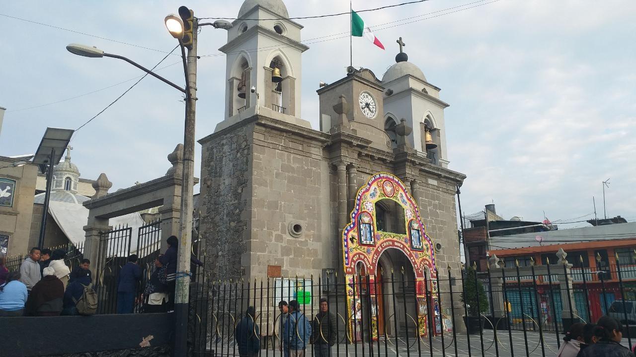 Iglesia, Cuajimalpa, robo, CDMX,
