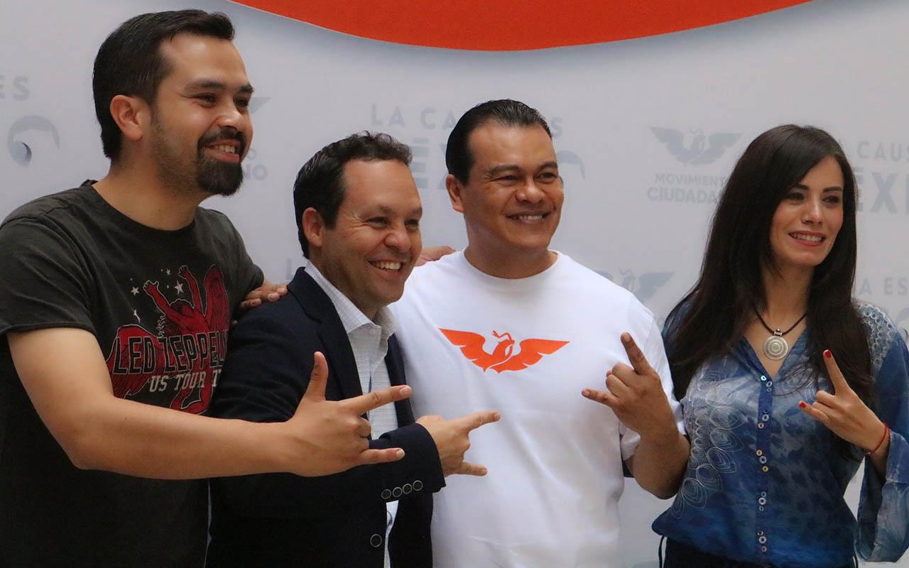 Juan Zepeda, senador, PRD, Movimiento Naranja, Neza,