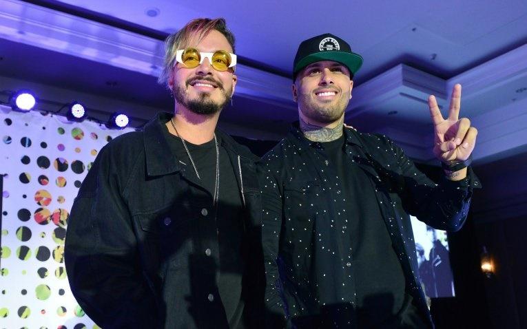 Nicky Jam y J Balvin/Foto: EFE