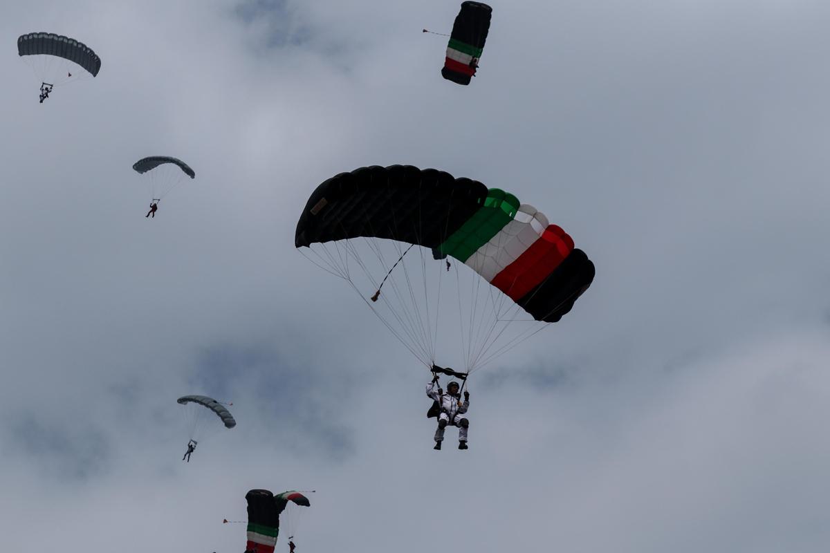 Paracaidista, Desfile, Independencia de México, Grito de Independencia, Secretaría de Marina,