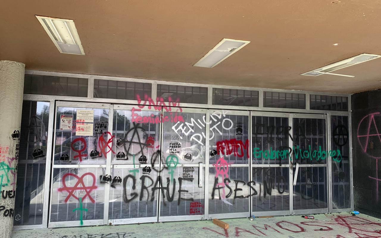 UNAM, Rectoría, Ciudad Universitaria, protesta, CCH,