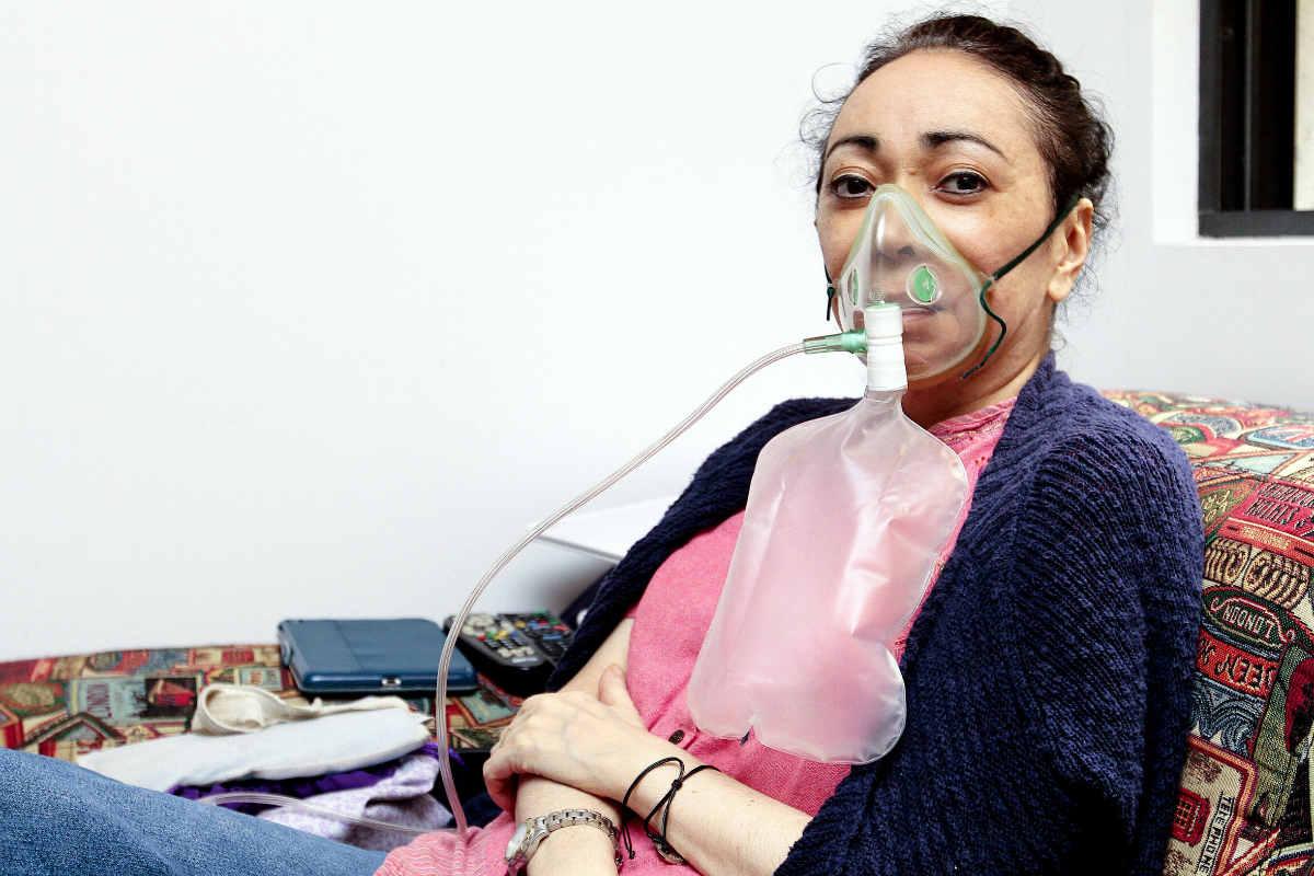 Sofía Hernández espera que alguien le done un pulmón (Notimex)