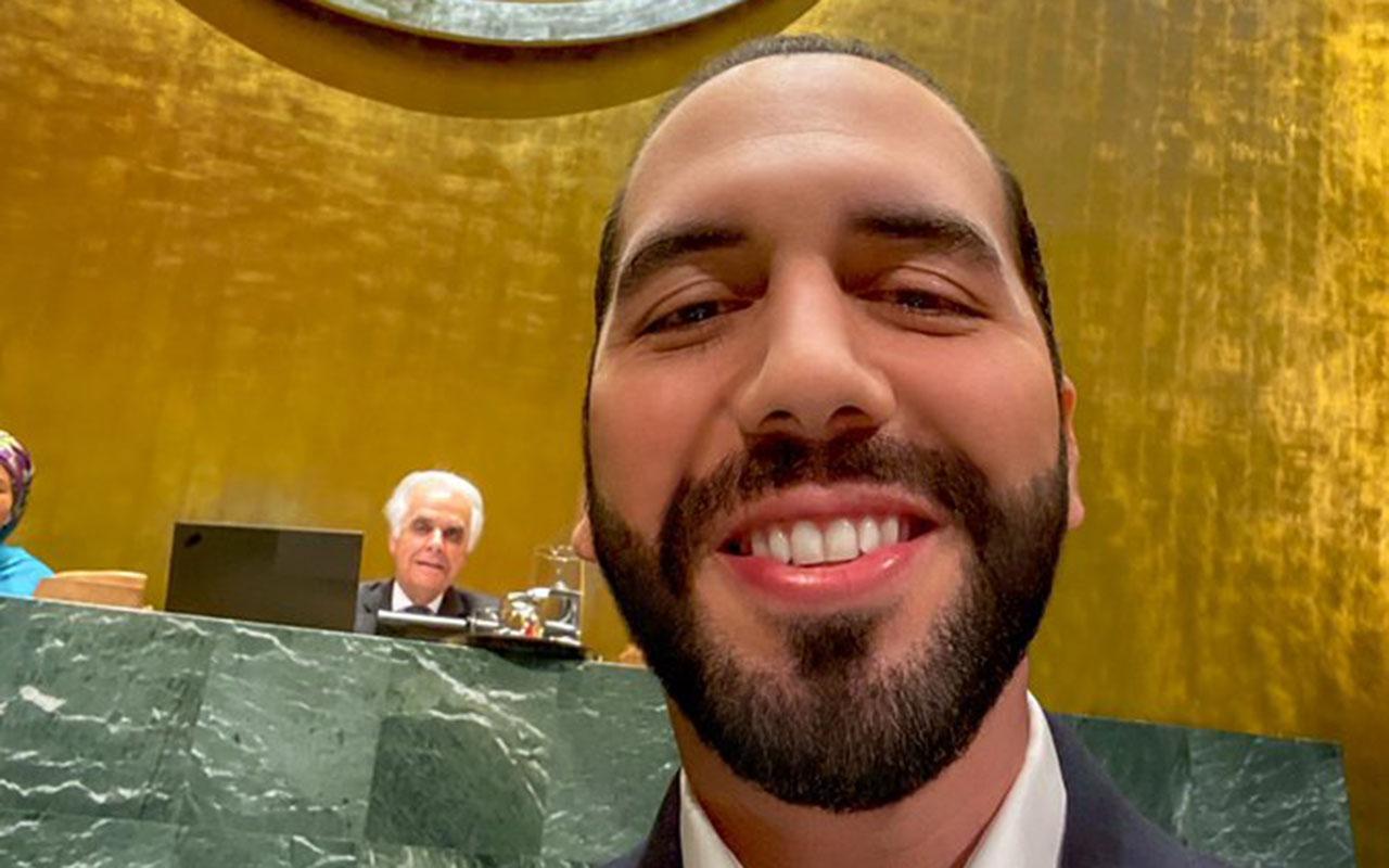 Nayib Bukele, El Salvador, ONU, Selfie, Naciones Unidas,